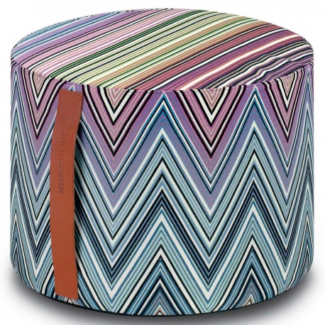 Pouf Kew 170 cylindre by Missoni Home