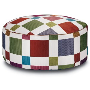 Pouf Pittsburgh Pallina by Missoni Home