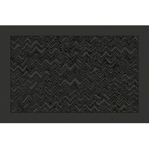 Tapis de bain Rex 86 anthracite by Missoni Home