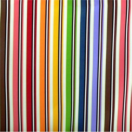 Tissu Rainbow Exterieur multicolore by Missoni Home