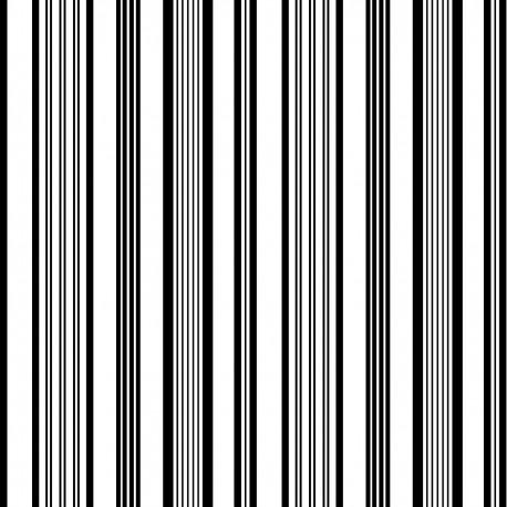 Tissu Rainbow Exterieur noir/blanc Missoni Home