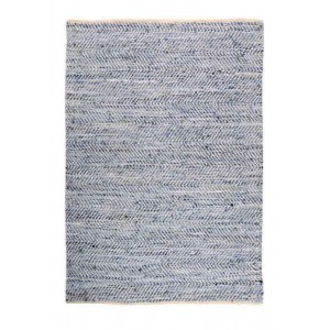 Tapis Atlas Blanc/bleu, The Rug Republic