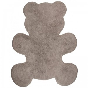 Tapis enfant Little Teddy taupe, Nattiot
