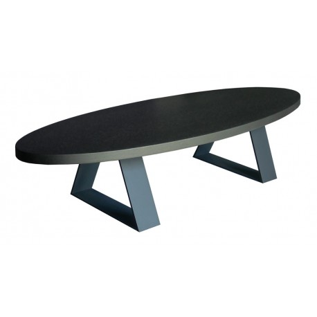 Table basse ovale Ogive, PH Collection