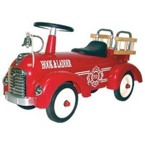 Porteur camion de pompiers rouge, Protocol