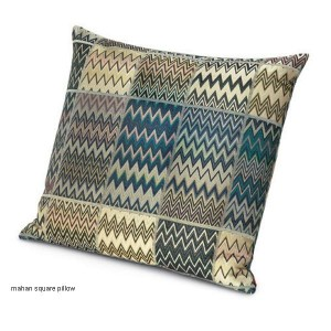 Coussin Mahan carré by Missoni Home