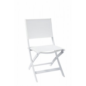 Chaise Pliante Long Island Blanche, Now's Home