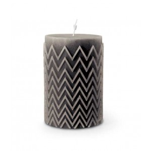 Bougie Chevron Grise, Missoni Home