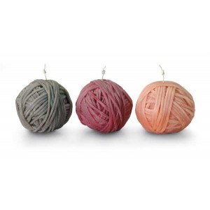 Set de 3 bougies Gomitolo 159, Missoni Home