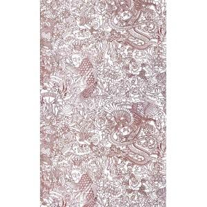 Papier peint Horimono Grenat, Jean Paul Gaultier