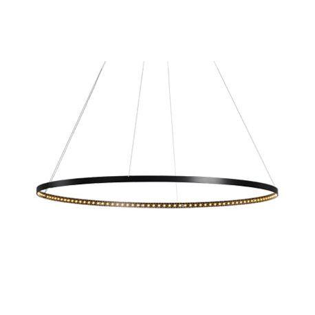 Suspension Circle Ø80 noire Le Deun Luminaires