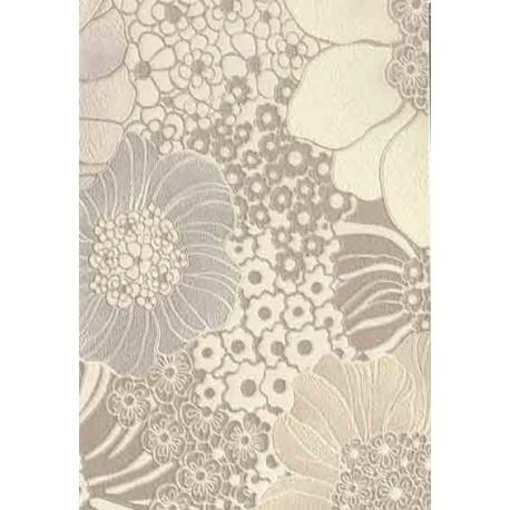 Papier peint Anémones beige Missoni Home fleurs aux grands pétales