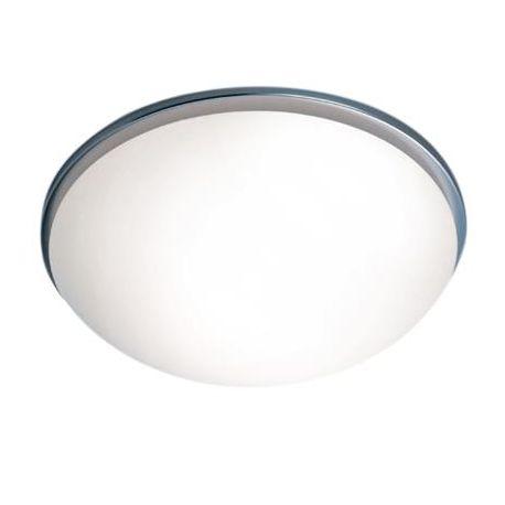 Plafonnier Nickel Mat, Linea Verdace