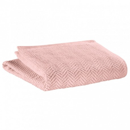 Draps de bain rose poudre Roberto, Vivaraise