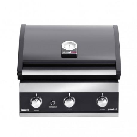 Barbecue inox encastrable Premium GT3, Grandhall