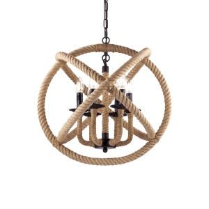 Suspension Corda ronde, Ideal Lux