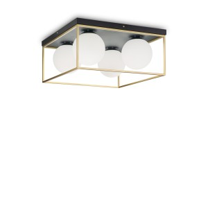 Plafonnier Lingotto 45x45, Ideal Lux