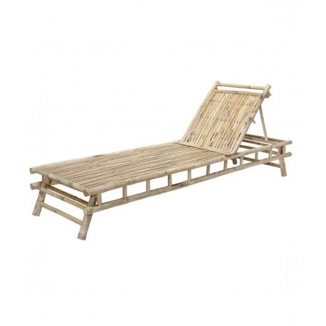 Chaise longue Bambou Naturel, Bloomingville