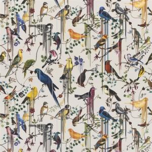 Tissu Birds Sinfonia Jonc, Christian Lacroix