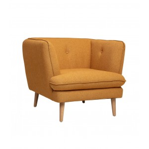 Fauteuil Elliot orange, Bloomingville