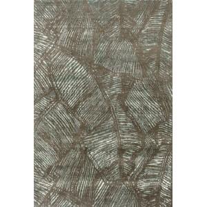 Tapis Tropical cèdre vert au motif de palmiers Toulemonde Bochart