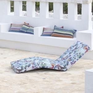 Chaise longue/Matelas Jalamar Villahermosa, Missoni Home