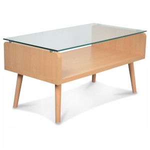 Table basse Hugo en verre