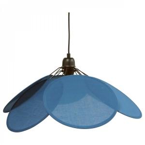 Suspension Fleur bleu