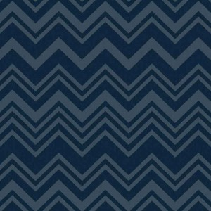 Papier peint Macro Zig Zag Blue, Missoni Home