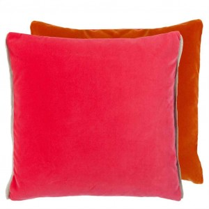Coussin Varese Fuchsia/Saffron, Designers Guild