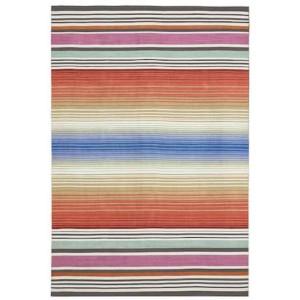 Tapis Alghero Outdoor à rayures multicolore extérieur/intérieur Missoni