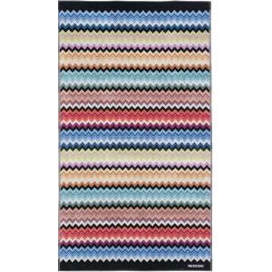 Drap de plage Adam 159 Missoni Home multicolore en coton motif zigzag