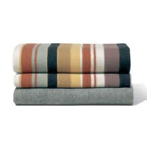 Couverture à rayures double face en laine Funny T60 Missoni Home