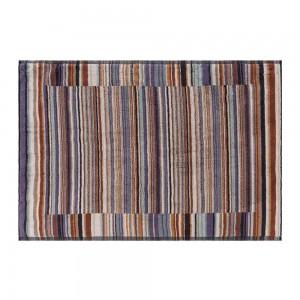 Tapis de bain Jazz 165 éponge à fines rayures en coton Missoni Home