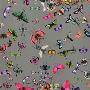 Papier Peint Mariposa Perle motifs insectes Christian Lacroix