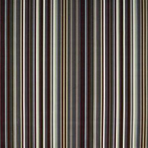 Velours Arc En Ciel Graphite fines rayures multicolore Christian Lacroix