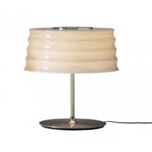Lampe ronde design sable en verre soufflé à la main Penta Light