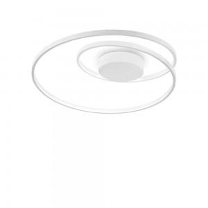 Plafonnier/Applique design rond blanc led Oz Ideal Lux diamètre 60 cm