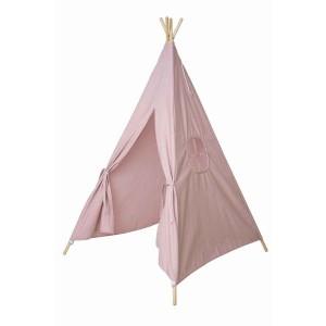 Tipi rose en tissu pour chambre d'enfant JaBaDaBaDo