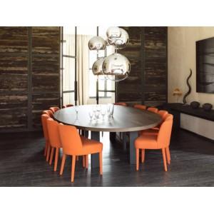 Table de salle à manger ovale Ellipse