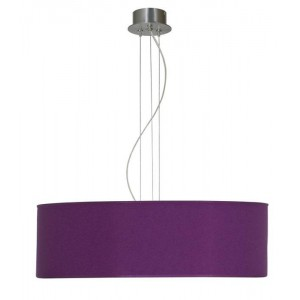 Suspension Tambourin violet Un Autre Regard