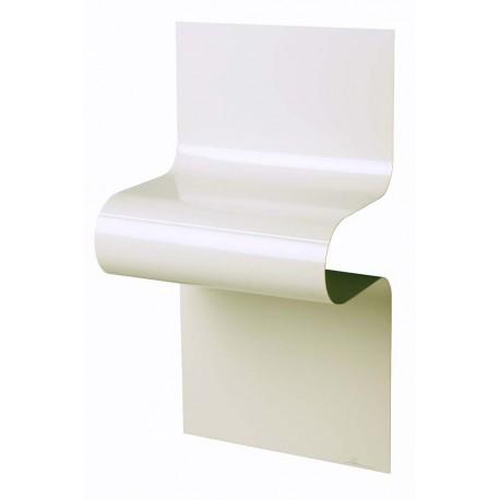 Chevet design ondulé blanc brillant by Vidame