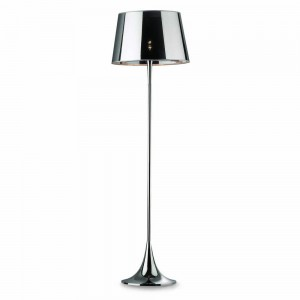 Lampadaire London chrome, Ideal Lux