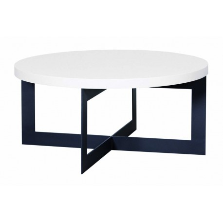 Table basse Cross ronde